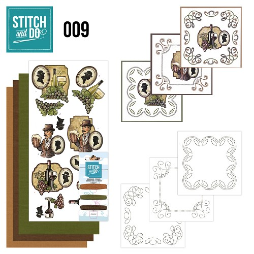 Stitch and Do 9 - Wijn en Bier