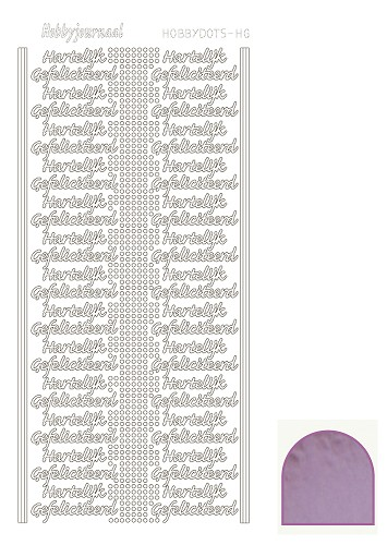 Hobbydots sticker - Mirror - Candy