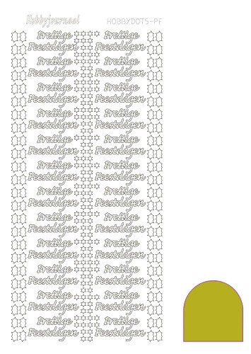 Hobbydots sticker - Mirror - Yellow