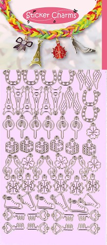 Sticker Charms - Lucky Violet