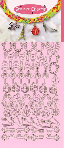 Sticker Charms - Lucky Candy