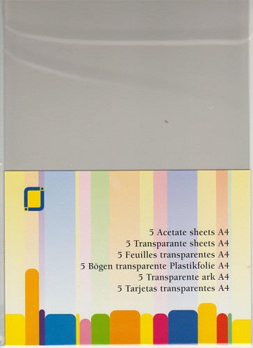 Transparante sheets Mica A4