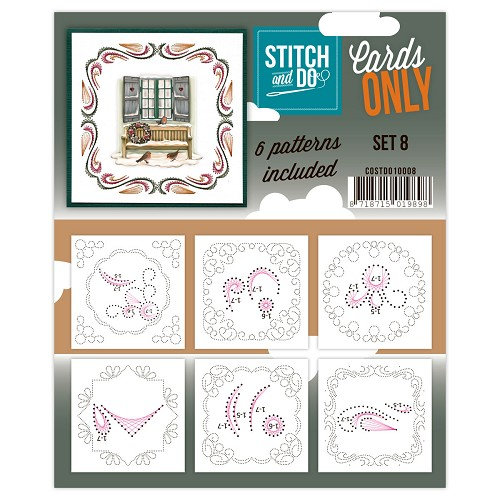Stitch & Do - Cards only - set 8