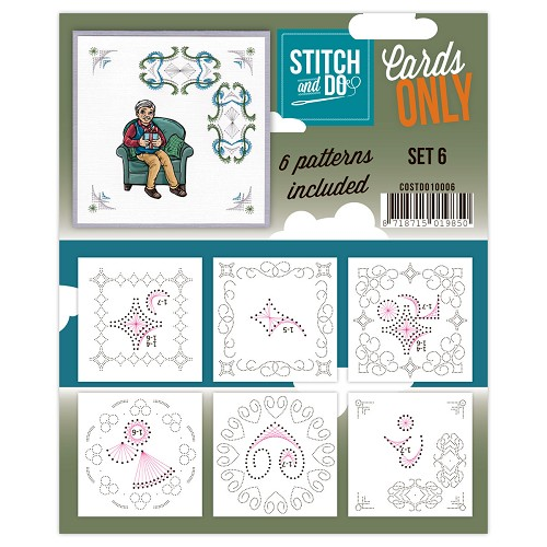 Stitch & Do - Cards only - set 6