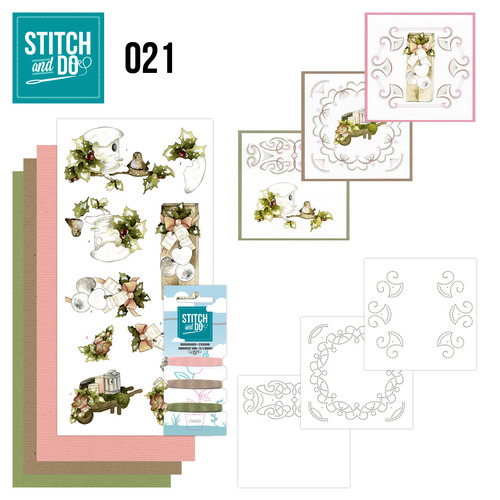 Stitch and Do 21 - Rustic Christmas