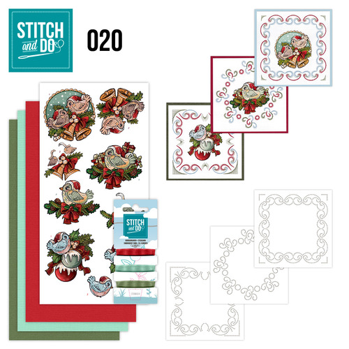 Stitch and Do 20 - Christmas Tweety