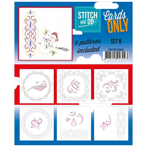 Stitch & Do - Cards only - set 9