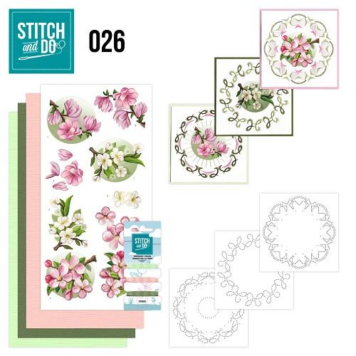 Stitch and Do 26 - Spring Flowers