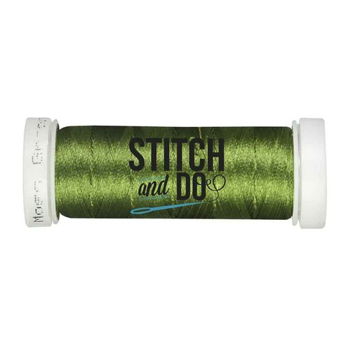 Stitch & Do 200 m - Linnen - Mosgroen