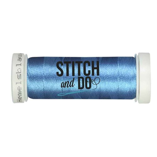Stitch & Do 200 m - Linnen - Hemels blauw