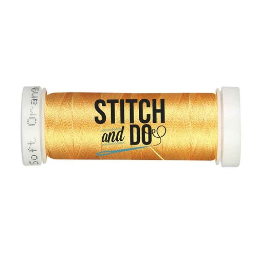 Stitch & Do 200 m - Linnen - Zacht oranje