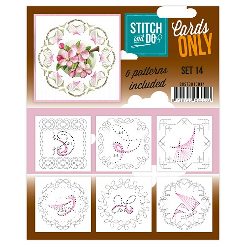 Stitch & Do - Cards only - Set 14
