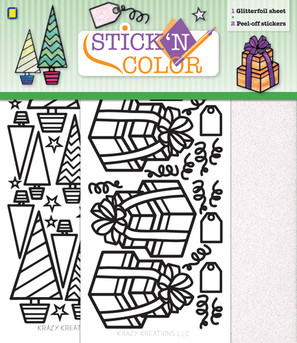 Stick n Color Christmas
