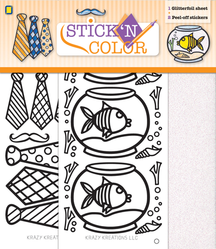 Stick n Color Fish