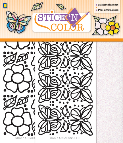 Stick n Color Butterfly