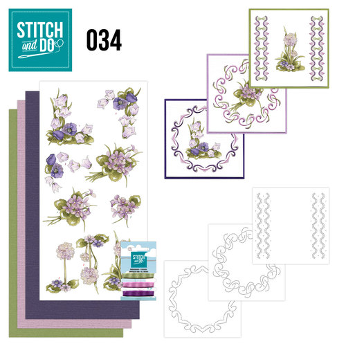 Stitch and Do 34 - Field flowers