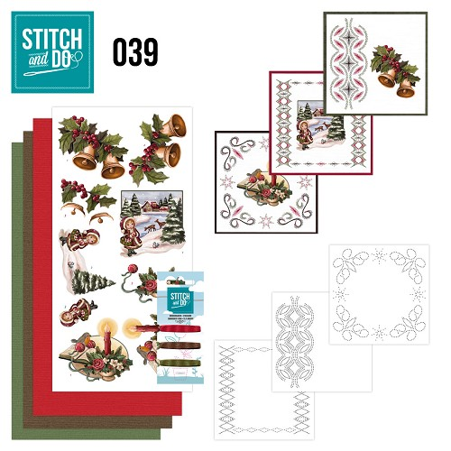 Stitch and Do 39 - Christmas Greetings