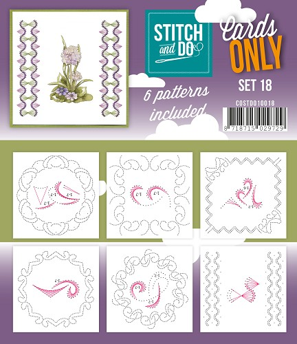 Stitch & Do - Cards only - Set 18
