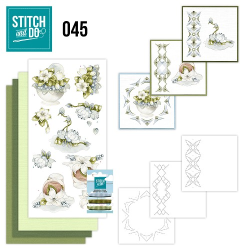 Stitch and Do 45 - Winterflowers