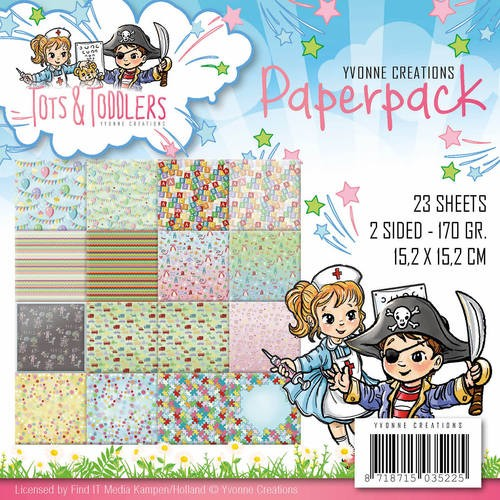 Paperpack  Yvonne Creations Tots & Toddlers