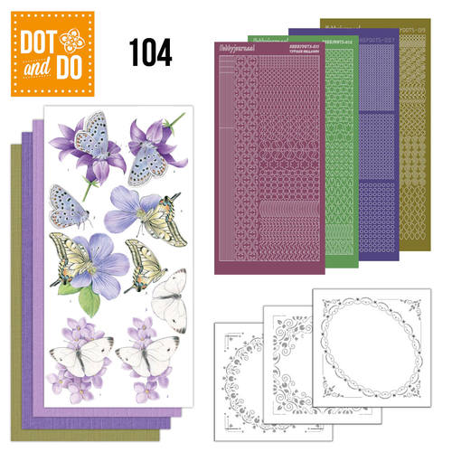 Dot and Do 104 - Butterflies
