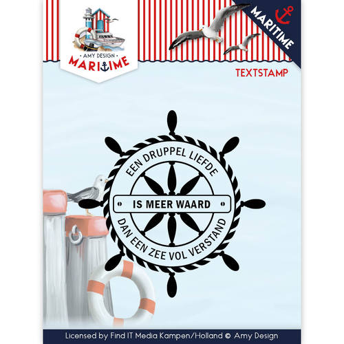 Clearstamp - Amy Design - Maritime