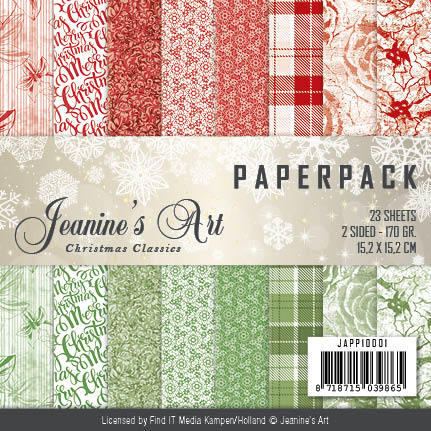 Paperpack - Jeaninnes Art - Christmas Classics