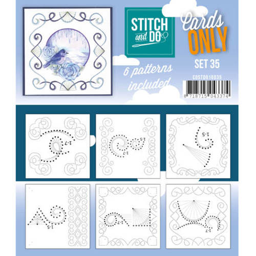 Cards only stitch 35