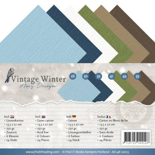 Linnenpakket - 4K - Amy Design - Vintage Winter