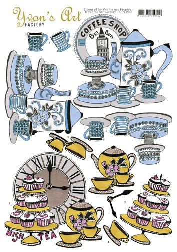 Yvon`s Art Factory - High Tea