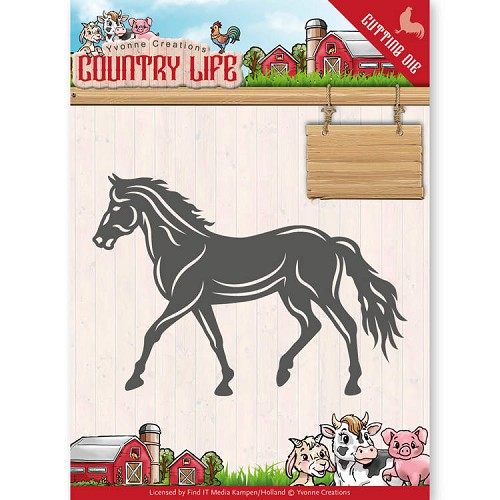 Dies - Yvonne Creations - Country Life Horse