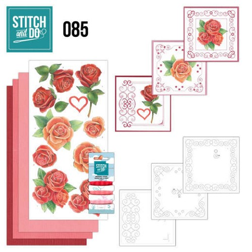Stitch and Do 85 - Roses