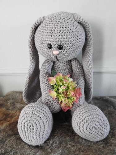 Funny Bunny Basic taupe XXL