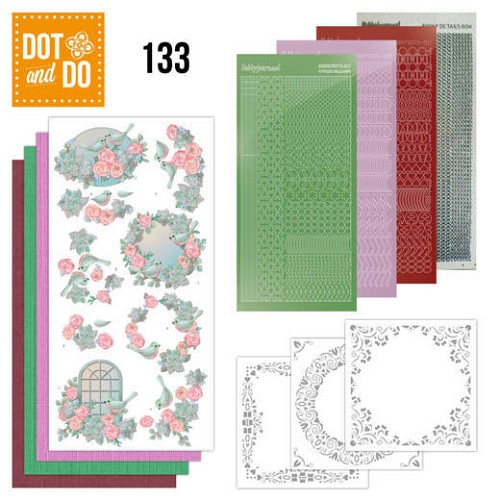 Dot and Do 133 - Birds and Roses