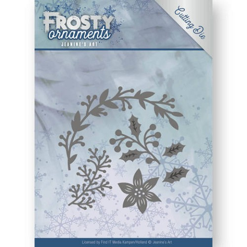 Dies - Jeanine's Art - Frosty Ornaments - Christmas Branches