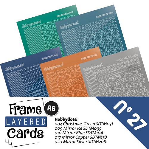 Frame Layered Cards 27 - Stickerset