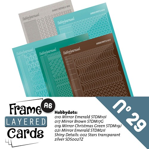 Frame Layered Cards 29 - Stickerset