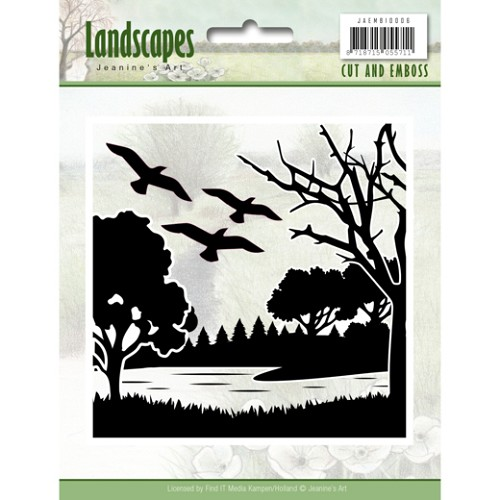 Cut and Embossing folder - Jeanine's Art - Landscapes