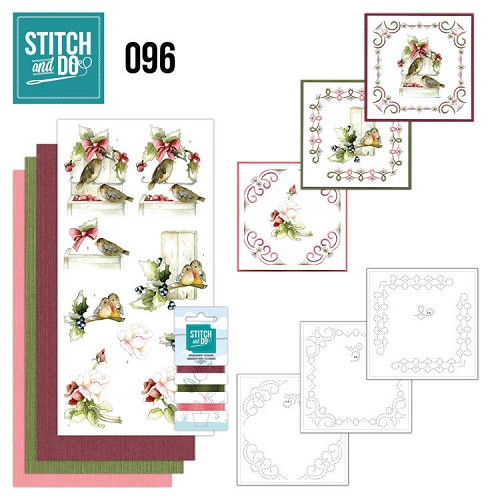 Stitch and Do 96 - Winter Birds