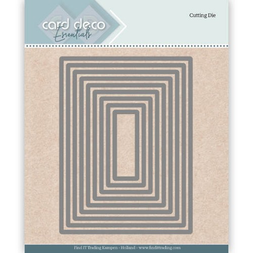 Card Deco Essentials Cutting Dies Rectangle