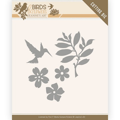 Dies - Jeanine's Art - Birds and Flowers - Birds Foliage