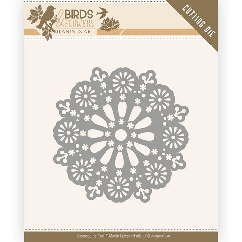 Dies - Jeanine's Art - Birds and Flowers - Daisy Circle