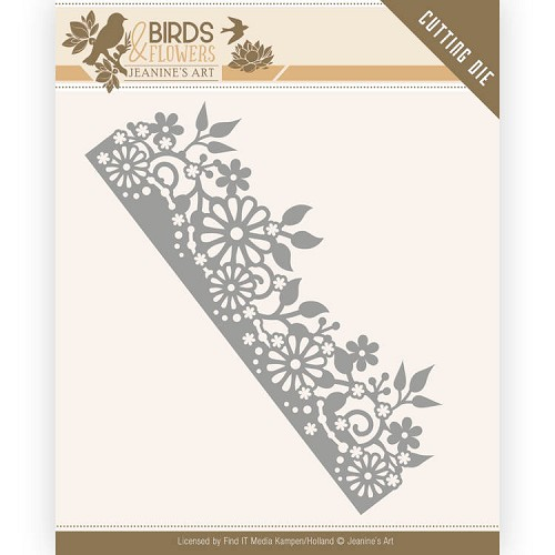 Dies - Jeanine's Art - Birds and Flowers - Daisy Border