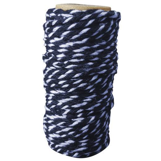 Card Deco Essentials - Bakers Twine blue/white