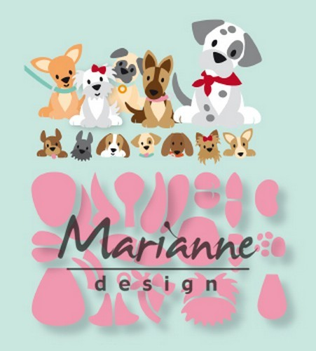 Marianne D Collectable Eline's puppy COL1464 129x94mm (03-19)