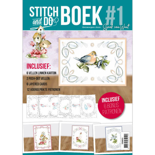 Stitch and Do A6 Boek 1