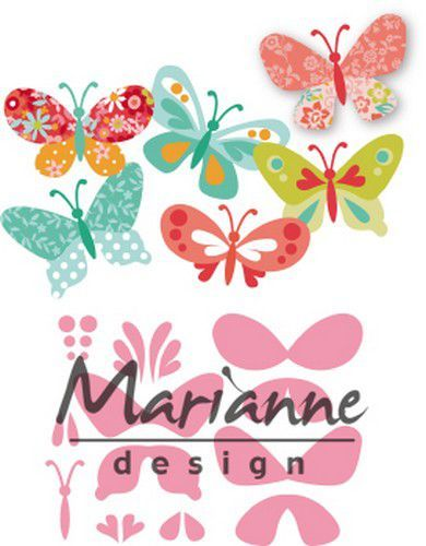 Marianne D Collectable Eline's vlinders COL1466 47x32mm (04-19)