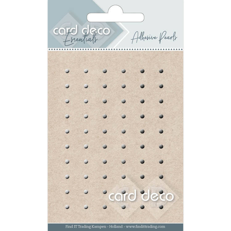 Card Deco Essentials - Adhesive Pearls