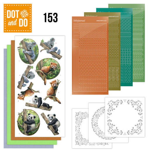 Dot and Do 153 Wild Animals