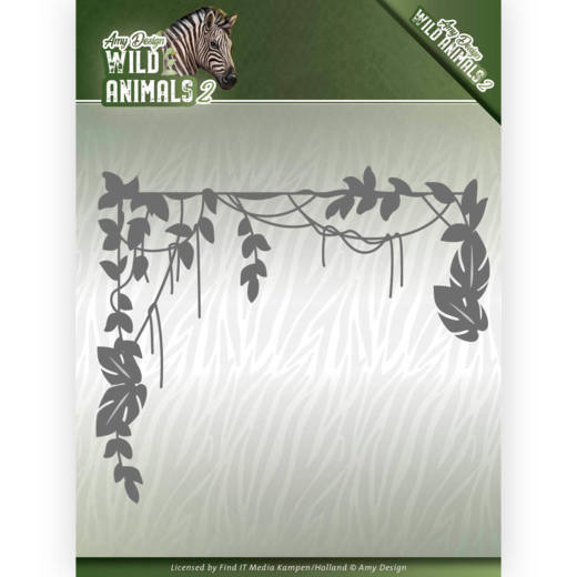 Dies - Amy Design - Wild Animals 2 - Jungle Branch